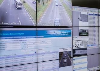 Percheziții la Centrul de monitorizare a traficului rutier
