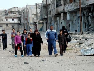 ONU primeşte undă verde din partea Damascului pentru a trimite convoaie umanitare în Siria