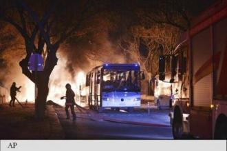 Explozie violentă la Ankara, soldată cu cinci morți și zece răniți