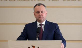 Igor Dodon: Actuala guvernare continua să mimeze reformele