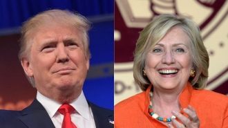 Clinton şi Trump obţin victorii în câte şapte state în cadrul