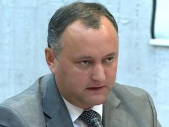 Dodon despre candidatul la șefia BNM: Este un om a lui Plahotniuc