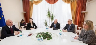 Pavel Filip s-a întâlnit cu asistentul adjunct al secretarului de stat al SUA