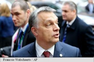 Viktor Orban: Ungaria respinge ferm la summitul UE relocarea de migranți