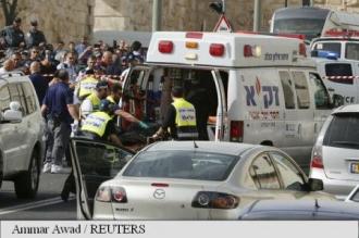 Două atacuri cu armă de foc la Ierusalim, ambii atacatori palestinieni, eliminați