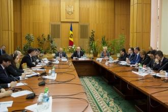 Prima şedinţă a Consiliului naţional pentru reforma administraţiei publice prezidată de Pavel Filip