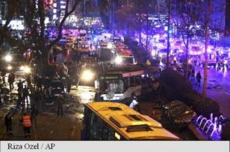 Cel puţin 34 morţi şi 75 de răniţi, într-o explozie din centrul Ankarei