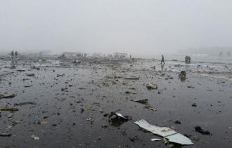 Un avion cu 62 de pasageri s-a prăbușt în Rostov-pe-Don.
