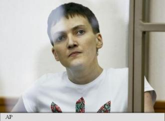 Nadia Savcenko, găsită vinovată de uciderea a doi ziariști ruși