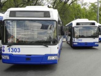Chișinăul și orașul Ialoveni legate cu o linie de troleibuz