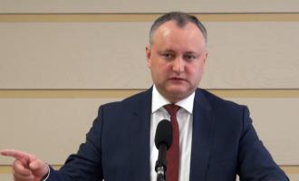 Igor Dodon se bucură de cea mai mare încredere printre cetățenii țării