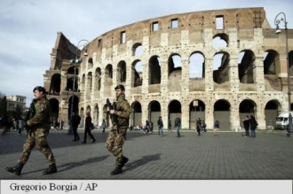 Măsuri de securitate sporite în zona Colosseumului și Bazilicii Sf. Petru în timpul Săptămânii Sfinte