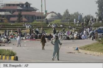 Pakistan: Autoritățile se pregătesc să-i evacueze pe manifestanții islamiști din Islamabad