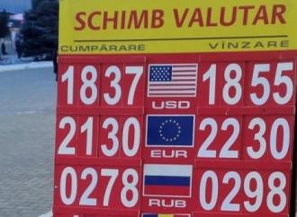 În Moldova se va majora considerabil taxa pentru licenţa de activitate a caselor de schimb valutar