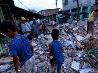 CUTREMUR de 7,8 grade în Ecuador: 233 de morţi şi peste 1.500 de răniţi
