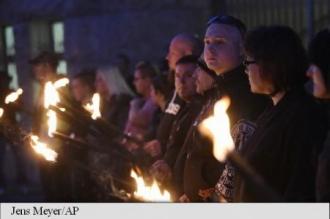 Germania: 15 polițiști au fost răniți în urma unor manifestații la Jena, în estul țării