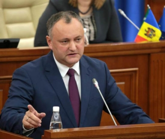 Igor Dodon îndeamnă toate forțele politice și sociale din RM la consolidare pentru apărarea suveranității și neutralității țării