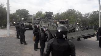Americanii au intrat în Moldova