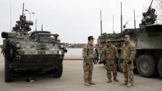 Deputații ruși reacționează la marșul tehnicii militare americane prin Moldova: Fasciști neexterminați