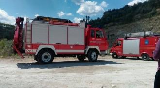 Doi copii care au căzut într-o carieră de piatră, au fost salvați și transportați la Urgență