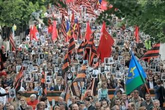 Aproape 40 de mii de persoane au participat astăzi la Marșul Victoriei