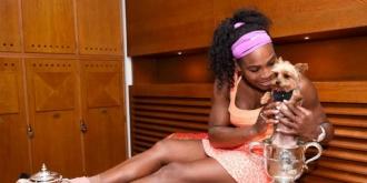 Serena Williams a gustat din mâncarea câinelui și i s-a făcut rău, la Roma