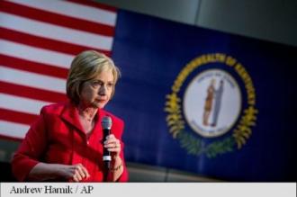 SUA: Clinton, plasată puțin înaintea lui Sanders în alegerile primare democrate din Kentucky