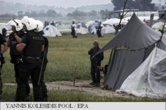 Grecia a reluat evacuarea taberei pentru refugiați de la Idomeni