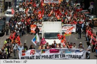 Centralele nucleare din Franța vor fi în grevă astăzi (sindicat CGT)