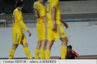 România - Ucraina 3-4, în meci de pregătire pentru EURO 2016