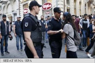 Turcia: Arestări și manifestații interzise cu ocazia aniversării revoltei anti-Erdogan