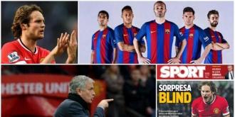 Barcelona cumpără de la Mourinho. Daley Blind, varianta surpriză pentru defensiva catalană
