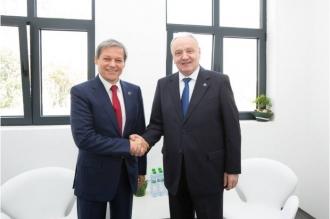 Președintele Nicolae Timofti a avut o întrevedere cu prim-ministrul României