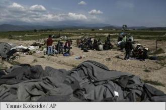 Grecia: Trei persoane rănite grav în urma confruntărilor într-o tabără de migranți din Lesbos