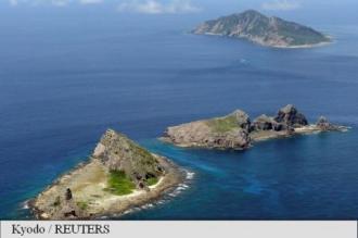 Japonia protestează față de o incursiune a Marinei chineze în apropierea Insulelor Senkaku