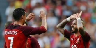 Ronaldo şi Quaresma au făcut spectacol în ultimul amical al Portugaliei, înainte de Euro