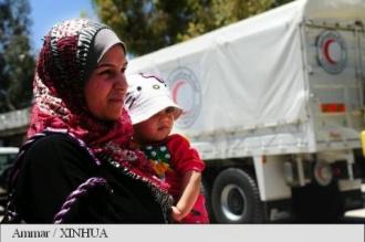 Siria: Intrarea ajutoarelor alimentare în orașul asediat Daraya, pentru prima dată după 2012