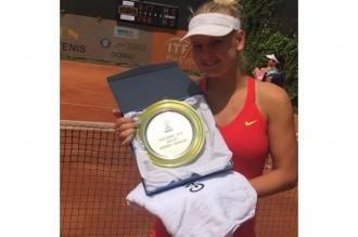 Alexandra Perper a redevenit cea mai bună jucătoare moldoveană de tenis