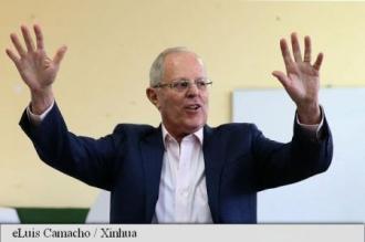 Peru: Victoria lui Pedro Pablo Kuczynski, anunțată oficial