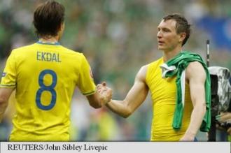 EURO 2016: Irlanda - Suedia 1-1