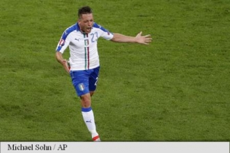 EURO 2016: Belgia - Italia 0-2