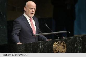 Un diplomat din Fiji, ales președinte al Adunării generale a ONU