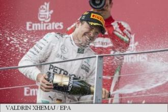 Formula 1: Nico Rosberg (Mercedes) a câștigat Marele Premiu al Europei de la Baku