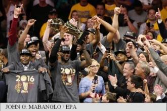 Baschet: Cleveland Cavaliers a câștigat titlul de campioană în NBA