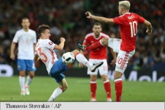 EURO 2016: Țara Galilor s-a calificat în optimi de finală, după 3-0 împotriva Rusiei