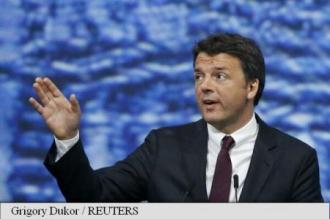 Premierul italian îi îndeamnă pe britanici să rămână în Uniunea Europeană