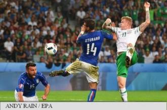 EURO 2016: Irlanda în optimi, după 1-0 cu Italia