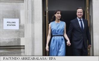 Referendum în Marea Britanie: David Cameron și soția sa au votat