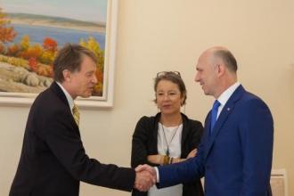 Elveția va susţine Republica Moldova în promovarea valorilor democratice