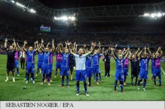 EURO 2016: Islanda a produs o surpriză uriașă în optimi, 2-1 cu Anglia